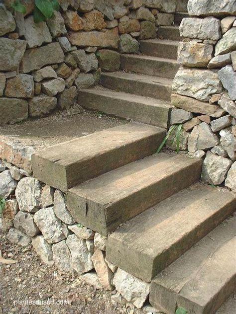 fabriquer escalier bois exterieur survl