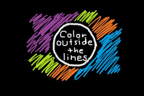 Coloring Outside The Lines coloring outside the lines cheri wong