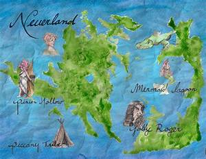 Amanda Szaulis: Neverland map