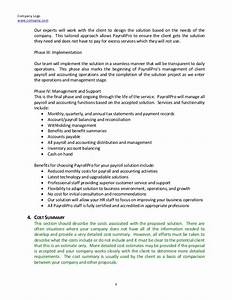 consulting proposal With hr consulting proposal template