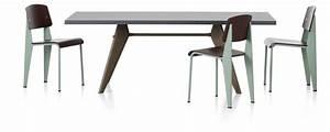 Table Jean Prouvé : vitra em table ~ Melissatoandfro.com Idées de Décoration