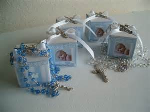 10 baptism rosary favor boxes personalized