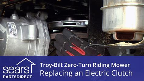 How To Replace A Troy-bilt Zero-turn Riding Mower Electric