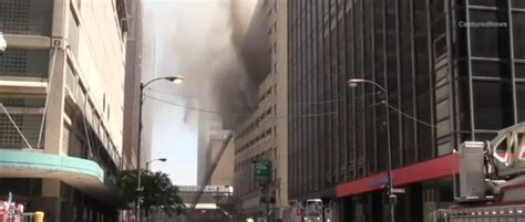 2-11 Alarm Fire In High Rise Parking Garage In