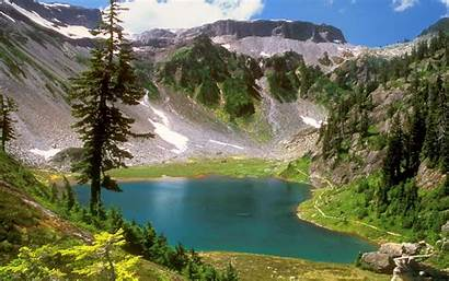 Nature Mountains Water Landscapes Desktop Trees Wallpapers13