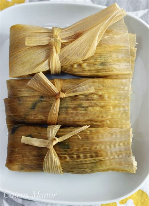 Homemade Mexican Tamales Recipe