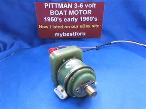 Electric Toy Boat Videos by Beautiful Pittman Toy Boat Electric Inboard Motor 3 6