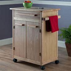 Amazoncom  Winsome Wood Single Drawer Kitchen Cabinet