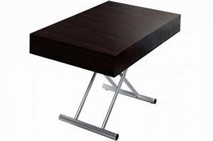 Table Basse Relevable Pas Cher : table basse relevable pas cher table basse table pliante et table de cuisine ~ Teatrodelosmanantiales.com Idées de Décoration