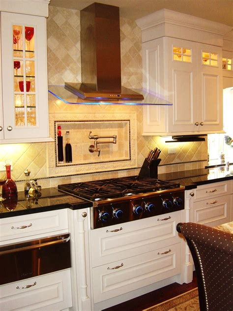 Dazzling Pot Filler Faucet  Kitchen Contemporary