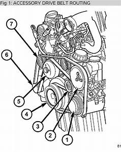 Serpentine Belt  May I Have A Diagram Of The Serpentine Belt