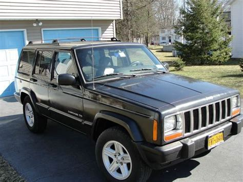 2000 jeep cherokee black sell used 2000 jeep cherokee limited black leather