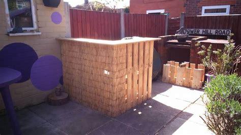 diy pallet wood bar bbq serving counter pallet ideas