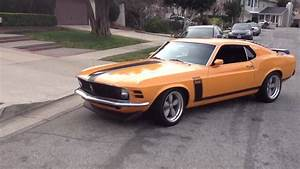 1970 Mustang Fastback - YouTube