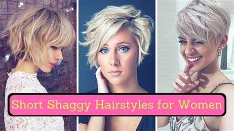 Short Shaggy Hairstyles For Women (2018)