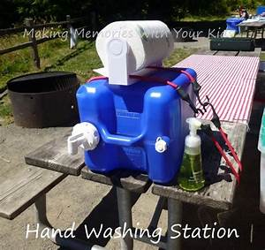 25+ best ideas about Camping hand washing station on ...