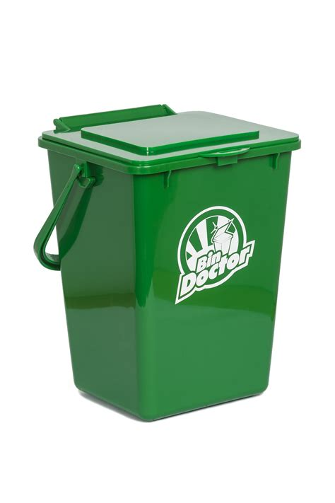 green kitchen bins 9l kitchen organics kit by bindoctor bin doctor 1387