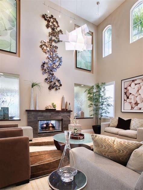 decorate  large living room    feel cosy