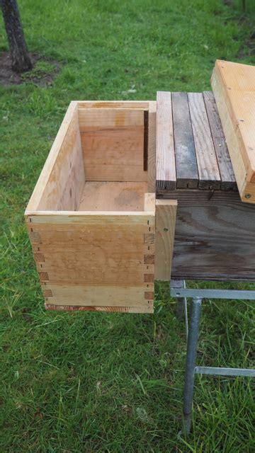 Top Bar Excluder - transfer hive beerepair
