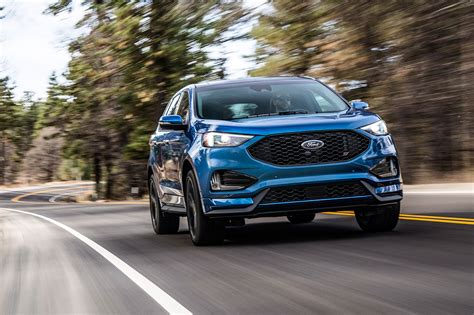 Contemporary And Cool The 2019 Ford Edge St  Daily Rubber
