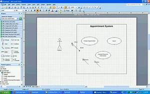 Uml Use Case Diagrams In Visio 2007
