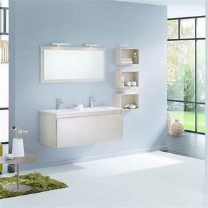 Mobilier Salle De Bain : ligne de mobilier de salle de bain modulable delpha ~ Teatrodelosmanantiales.com Idées de Décoration