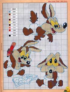17+ best images about Looney Tunes Cross Stitch on ...