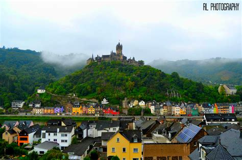 Reichsburg Cochem Cochem Germany Cochem Castle Is The