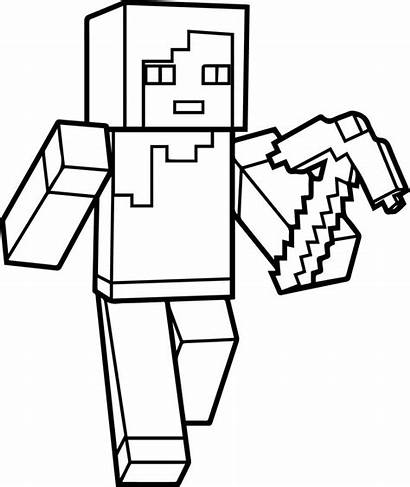 Minecraft Coloring Pages Steve Printables