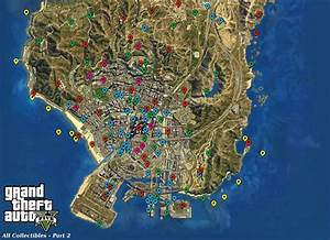 GameVision: GTA 5: All Collectible Locations – Map (GRAPHIC)