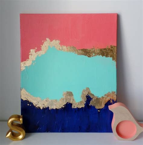 Painting Ideas Diy by 21 Easy Canvas Paintings And Techniques To Try Useful