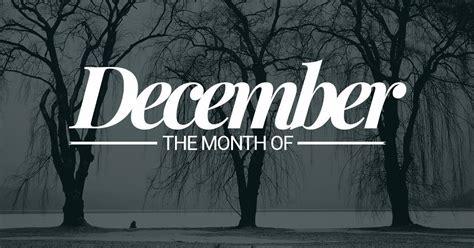 december month year