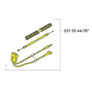 Husqvarna Cable Assembly 531004476