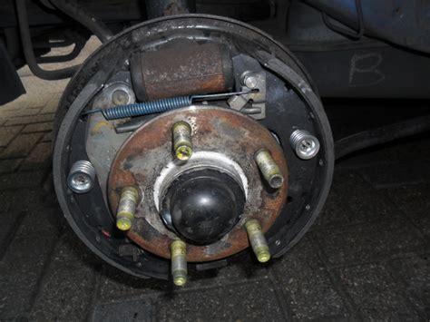 Knocking Noise After Rear Brake Job.