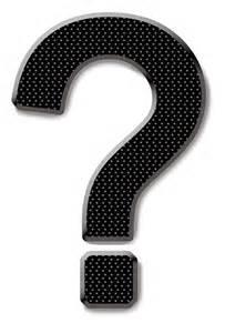 Public-Domain Question Mark