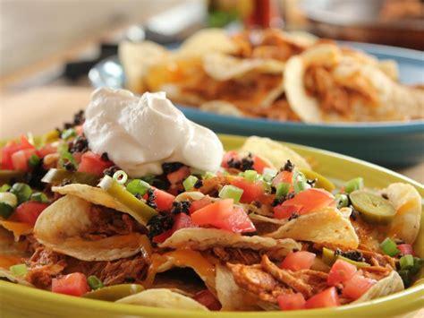 chicken nachos recipe ree drummond food network