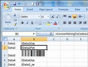 Code 128 font free excel - excel 2007 and 2010 users, once