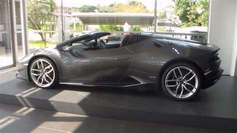 lamborghini huracan spyder overview south africa youtube