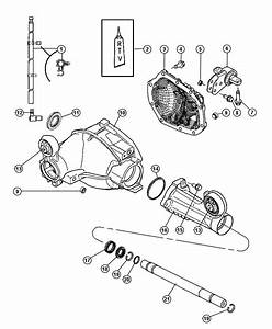 2013 Dodge Charger Tube  Axle Housing  Right  Front  Ratio