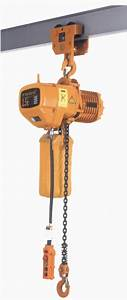 China Hhb Series Electric Chain Hoist With Manual Trolley
