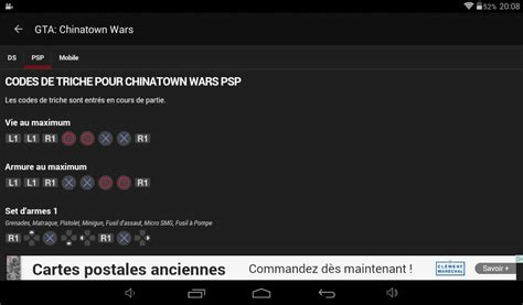 Codes Gta Chinatown Wars (psp/mobile) !
