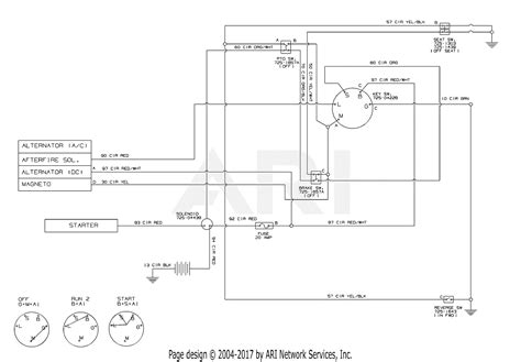 schematic electrical diagram mtd 13a276lf031 lt3800 2013 parts diagram for electrical schematic