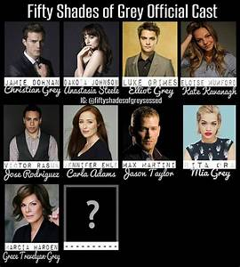 Fifty Shades of Grey Official Cast As of December 4, 2013 ...