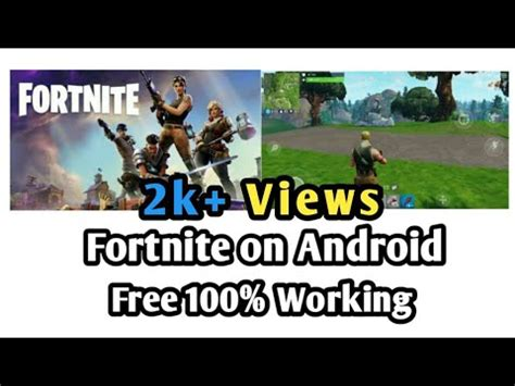 fortnite  android updated apk full