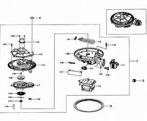 Pump Assy Diagram  U0026 Parts List For Model Dw80f600utsaa0000