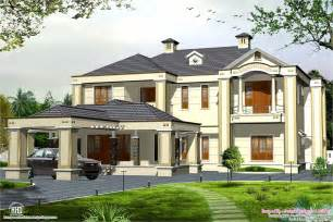 colonial style house plans colonial style 5 bedroom style house kerala