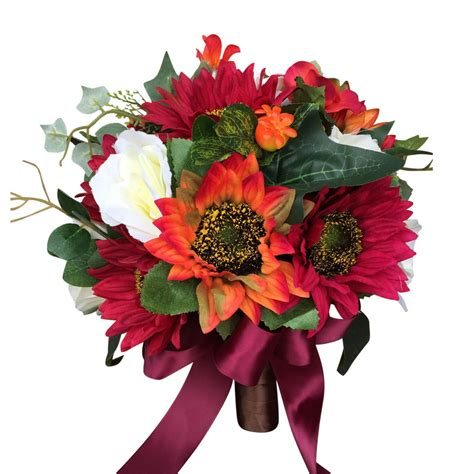 Elegant Bridal Bouquet Perfect For Fall And Winter