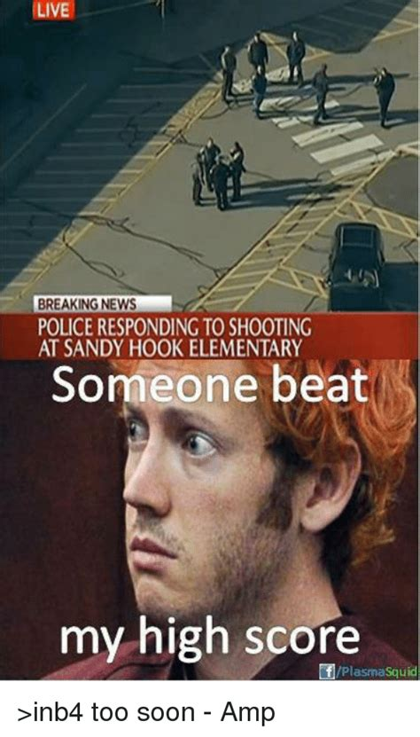 Sandy Hook Memes - live breaking news police responding to shooting at sandy hook elementary someone beat my high