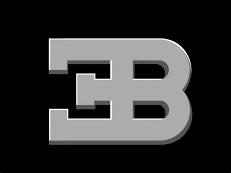 The horseshoe grille features a unique linear design with a bugatti badge made of solid silver and black enamel. GTA 5 Bugatti Logo Emblem Tutorial - YouTube