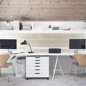 Idée Déco Bureau Maison : id es pour am nager un espace bureau la maison ~ Zukunftsfamilie.com Idées de Décoration